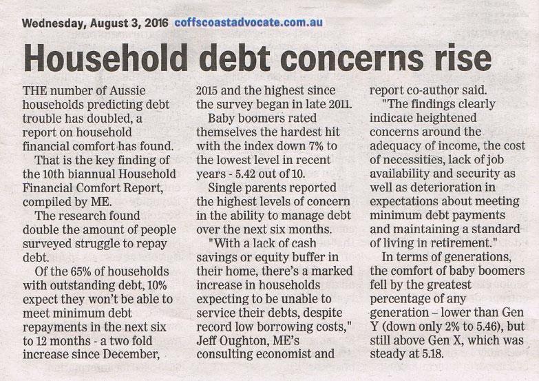 Household Debt Concerns Rise Fred Appleton Bankruptcy Saves Lives